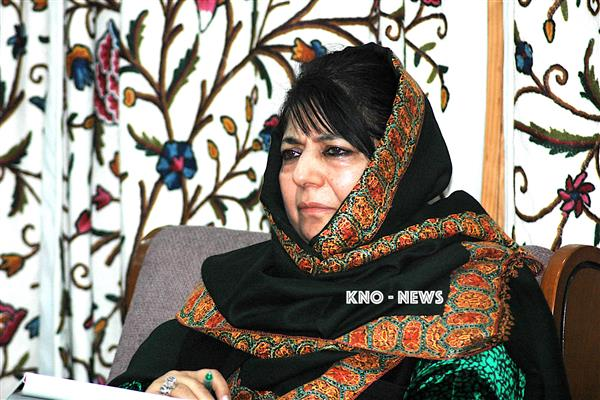 Mehbooba Mufti Feels Pained Over Killing Of Two Guards & Handwara Lady | KNO