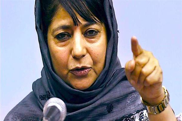 Holi of blood is going on at our borders : CM Mehbooba | KNO