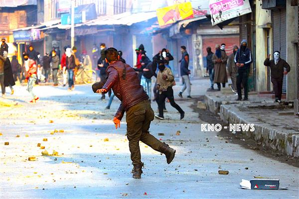 Clashes Erupt During CASO In South Kashmir | KNO