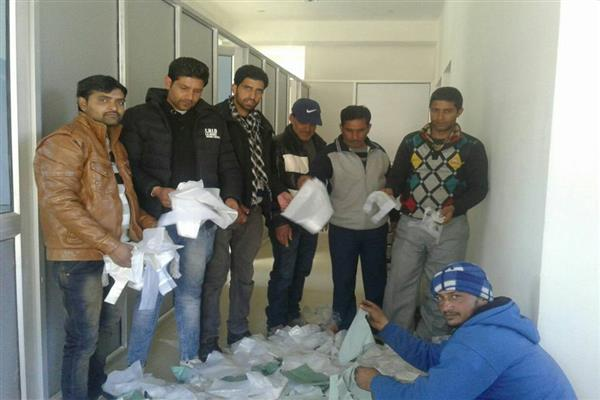 Bhaderwah MC recovers large quantity of Polythene bags | KNO