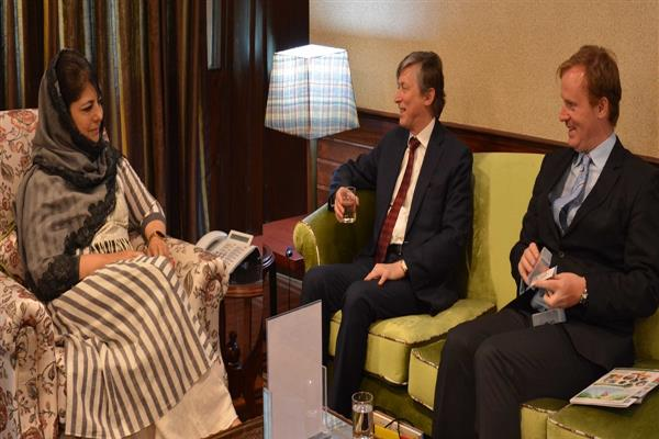 Belgian Ambassador calls on Chief Minister | KNO