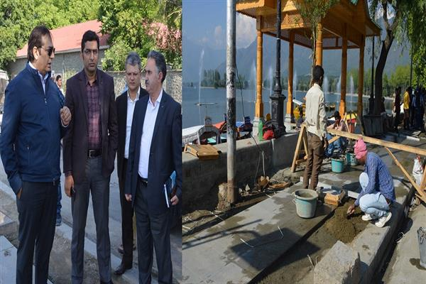 Div Com conducts city tour, reviews developmental projects | KNO