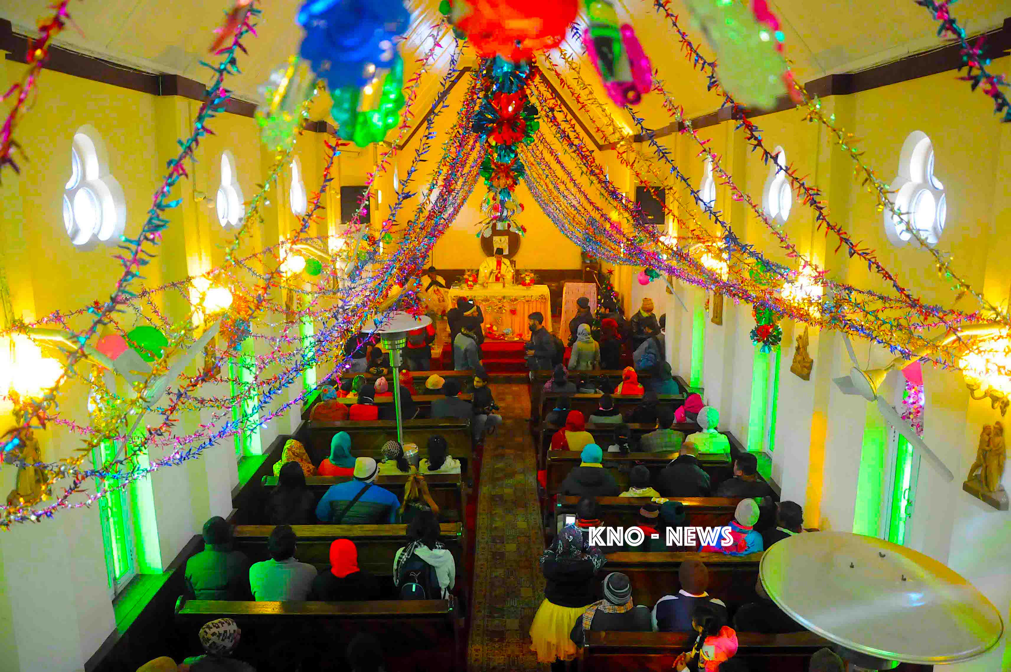 Christmas Celebrated Across Kashmir Valley | KNO
